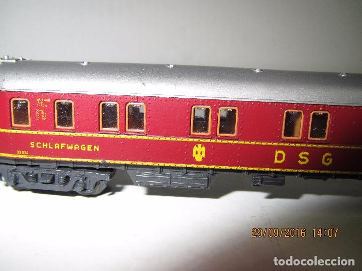 Trenes Escala: Coche Cama de la DSG en Escala *N* de ROCO - Foto 6 - 61704096