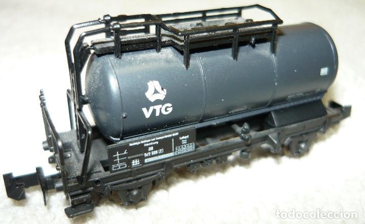 VAGON CISTERNA VTG ROCO ESCALA N (Juguetes - Trenes a Escala N - Roco N)