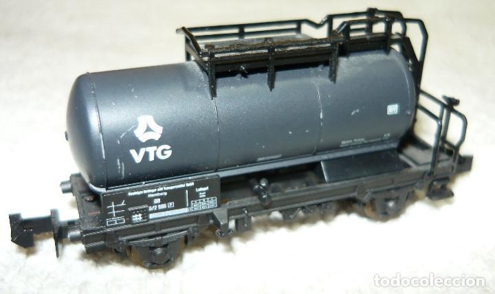 Trenes Escala: VAGON CISTERNA VTG ROCO ESCALA N - Foto 2 - 67047994