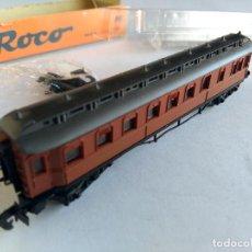 Trenes Escala: ROCO N VAGON COCHE PASAJEROS SPEISEWAGEN. FUNCIONA EN IBERTREN. Lote 68763841