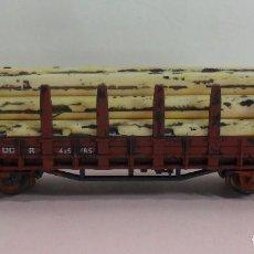 Trenes Escala: ROCO N - VAGÓN CON CARGA DE TRONCOS - DB. Lote 70026709
