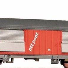 Trenes Escala: ROCO 25685 VAGÓN POSTAL CUBIERTO -PTT POST-. Lote 71665191