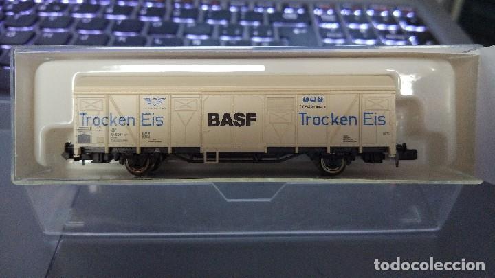 ROCO 25603 VAGÓN CERRADO BASF DB (Juguetes - Trenes a Escala N - Roco N)