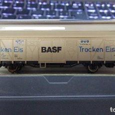 Trenes Escala: ROCO 25603 VAGÓN CERRADO BASF DB. Lote 71665899
