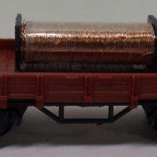 Trenes Escala: ROCO N - VAGÓN ABIERTO DE BORDE BAJO CON CARGA. Lote 78459509