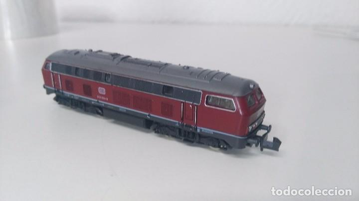 Trenes Escala: locomotora roco escala n db 215 - Foto 3 - 87137428