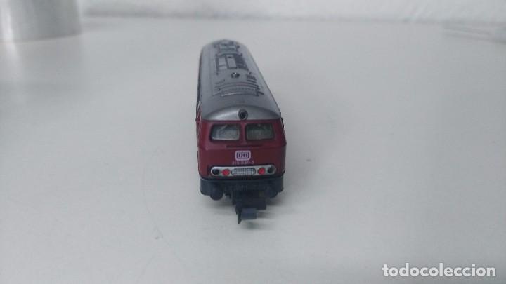 Trenes Escala: locomotora roco escala n db 215 - Foto 4 - 87137428