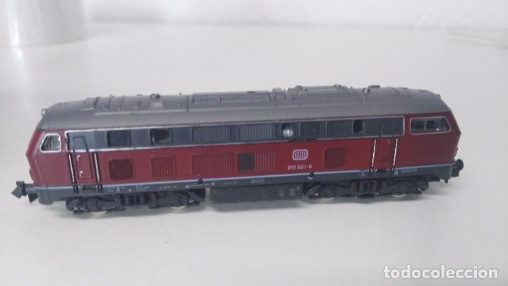 Trenes Escala: locomotora roco escala n db 215 - Foto 5 - 87137428