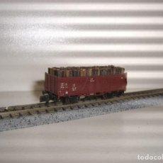 Trenes Escala: ROCO N BORDE ALTO CON MADEROS (CON COMPRA DE 5 LOTES O MAS ENVÍO GRATIS). Lote 87160160