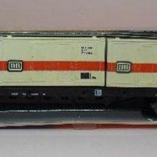 Trenes Escala: ROCO N - REF. 02362S - VAGÓN PLATAFORMA CON 3 CONTENEDORES - CAJA ORIGINAL. Lote 89623004