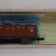 Trenes Escala: ROCO N - REF. 25028 - VAGÓN DE BORDE ALTO CON CARGA - CAJA ORIGINAL. Lote 89623324