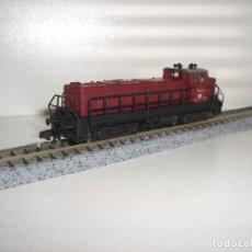 Trenes Escala: ROCO N LOCOMOTORA DIESEL LA VALENCIANA (CON COMPRA DE 5 LOTES O MAS ENVÍO GRATIS). Lote 87858884