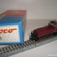 Trenes Escala: ROCO N LOCOMOTORA DE MANIOBRAS 23295 E6005 (CON COMPRA DE 5 LOTES O MAS ENVÍO GRATIS). Lote 93031780