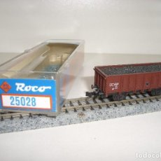 Trenes Escala: ROCO N BORDE ALTO CARGA DE CARBÓN REF 25028 (CON COMPRA DE 5 LOTES O MAS ENVÍO GRATIS). Lote 95554391
