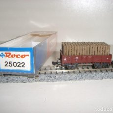 Trenes Escala: ROCO N BORDE MEDIO CON TRONCOS REF 25022 (CON COMPRA DE 5 LOTES O MAS ENVÍO GRATIS). Lote 95554451