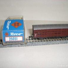 Trenes Escala: ROCO N JAULA PARA GANADO REF 25051 (CON COMPRA DE 5 LOTES O MAS ENVÍO GRATIS). Lote 95554499