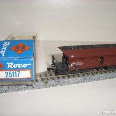 Trenes Escala: ROCO N TOLVA CARGA DE CARBÓN 6 EJES REF 25017 (CON COMPRA DE 5 LOTES O MAS ENVÍO GRATIS). Lote 95690431