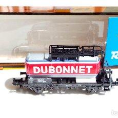 Trenes Escala: VAGÓN CISTERNA DUBONNET ESCALA N DE ROCO. Lote 97996363