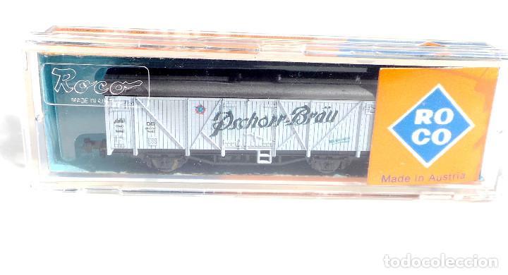 Trenes Escala: VAGON MERCANCIAS CERRADO ROCO REF 2307 B - Foto 2 - 97996599