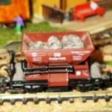 Trenes Escala: VGONETAS MINERAS CON PIEDRA NATURAL. Lote 108801699
