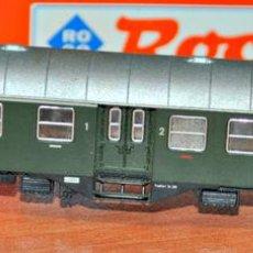 Trenes Escala: COCHE DE VIAJEROS MIXTO 1ª/2ª CLASE 4 EJES DE LA DB ÉPOCA III. ROCO, REF. 24321. ESCALA N. Lote 109449483