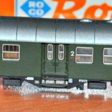 Trenes Escala: COCHE DE VIAJEROS MIXTO 2ª/EQUIPAJES 4 EJES DE LA DB ÉPOCA III. ROCO, REF. 24207. ESCALA N. Lote 109452047