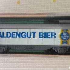 Trenes Escala: VAGÓN CERVECERO ROCO N 2326 D HALDENGUT BIER. Lote 114424063