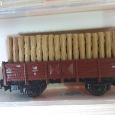 Trenes Escala: VAGÓN TRONCOS ROCO N 25022. Lote 114431591
