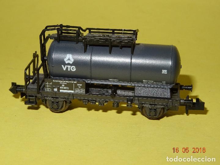 VAGÓN CISTERNA VTG REF. 25037 EN ESCALA *N* DE ROCO (Juguetes - Trenes a Escala N - Roco N)