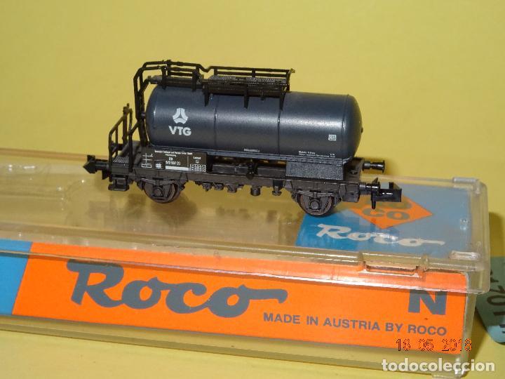 Trenes Escala: Vagón Cisterna VTG Ref. 25037 en Escala *N* de ROCO - Foto 2 - 121292379
