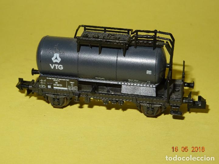 Trenes Escala: Vagón Cisterna VTG Ref. 25037 en Escala *N* de ROCO - Foto 3 - 121292379