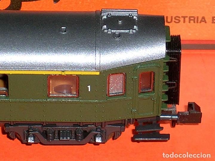Trenes Escala: Coche pasajeros 1ª clase DB ref. 24214, Roco esc. N, original años 80. Con caja. - Foto 5 - 122288735