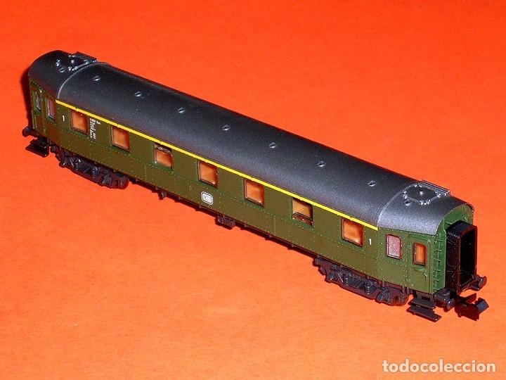 Trenes Escala: Coche pasajeros 1ª clase DB ref. 24214, Roco esc. N, original años 80. Con caja. - Foto 6 - 122288735