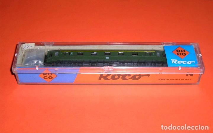 Trenes Escala: Coche pasajeros 1ª clase DB ref. 24214, Roco esc. N, original años 80. Con caja. - Foto 8 - 122288735