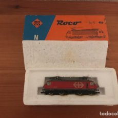 Trenes Escala: ANTIGUA LOCOMOTORA ROCO EN CAJA NUEVO. Lote 122316382