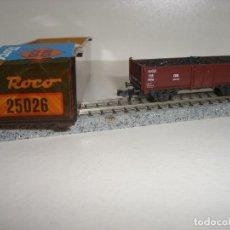 Trenes Escala: ROCO N BORDE MEDIO CARBÓN REF 25026 ( CON COMPRA DE 5 LOTES O MAS ENVÍO GRATIS). Lote 122592599