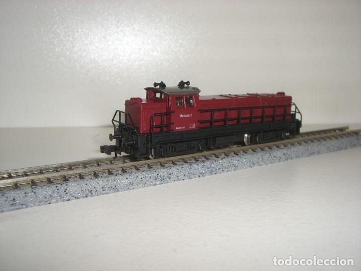 ROCO N LOCOMOTORA MANIOBRAS VALENCIANA ( CON COMPRA DE 5 LOTES O MAS ENVÍO GRATIS) (Juguetes - Trenes a Escala N - Roco N)
