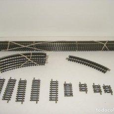 Trenes Escala: ROCO N 6 VIAS RECTAS 22202 DE 31 CM, Y MAS VER TEXTO (CON COMPRA DE 5 LOTES O MAS ENVÍO GRATIS). Lote 122795227