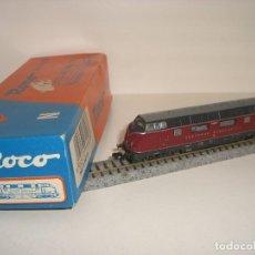 Trenes Escala: ROCO N LOCOMOTORA DIESEL 23257 (CON COMPRA DE 5 LOTES O MAS ENVÍO GRATIS). Lote 125843099
