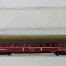 Trenes Escala: VAGON COCHE DE PASAJEROS ROCO N NUEVO EN SU CAJA. Lote 132535546