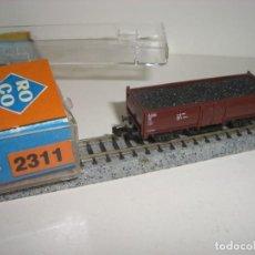 Trenes Escala: ROCO N BORDE MEDIO CON CARBÓN 2311 (CON COMPRA DE CINCO LOTES O MAS ENVÍO GRATIS). Lote 137432234