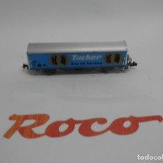 Trenes Escala: VAGÓN CERRADO DE LA SBB ESCALA N DE ROCO . Lote 139912290