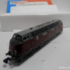 Trenes Escala: LOCOMOTORA DIESEL DE LA DB ESCALA N DE ROCO . Lote 139914038