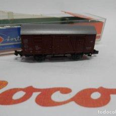 Trenes Escala: VAGÓN CERRADO ESCALA N DE ROCO . Lote 139949306