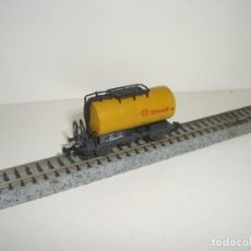 Trenes Escala: ROCO N CISTERNA SHELL (CON COMPRA DE CINCO LOTES O MAS ENVÍO GRATIS). Lote 140756898