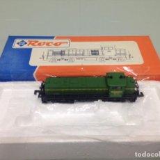 Trenes Escala: TREN, ROCO 23226, LOCOMOTORA DIESEL, RENFE 1961-10704, 307-004-2, VALENCIANA. Lote 141782942