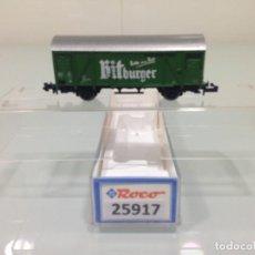 Trenes Escala: TREN, ROCO 25917,VAGON CERRADO 2 EJES,KITBURGER , DB , 21RIV 80DB 133 2 897-4 GLS-205. Lote 143392998