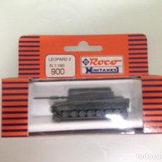 Trenes Escala: TREN, ROCO 900, CARRO DE COMBATE, TANQUE, LEOPARD 2E. Lote 143565190