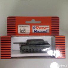 Trenes Escala: TREN, ROCO 900, CARRO DE COMBATE, TANQUE, LEOPARD 2E. Lote 143565218