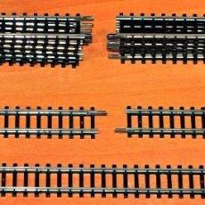 Trenes Escala: TRAMO VÍA RECTA DE 104,2 MM DE IBERTREN, ESCALA N O 2N. PRECIO POR UNIDAD.. Lote 146574172